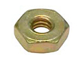 MS35649 Plain Hexagon Machine Nuts